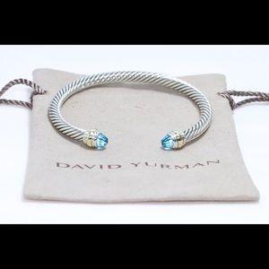 David Yurman 5mm Classic Cable Cuff Bracelet